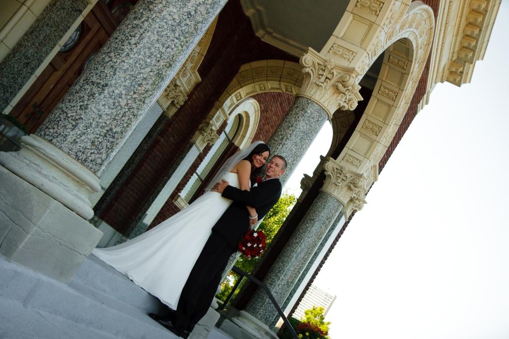 Bride and Groom Wedding Kansas City
