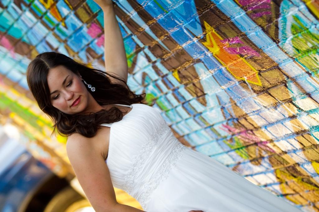 Bride in Alley