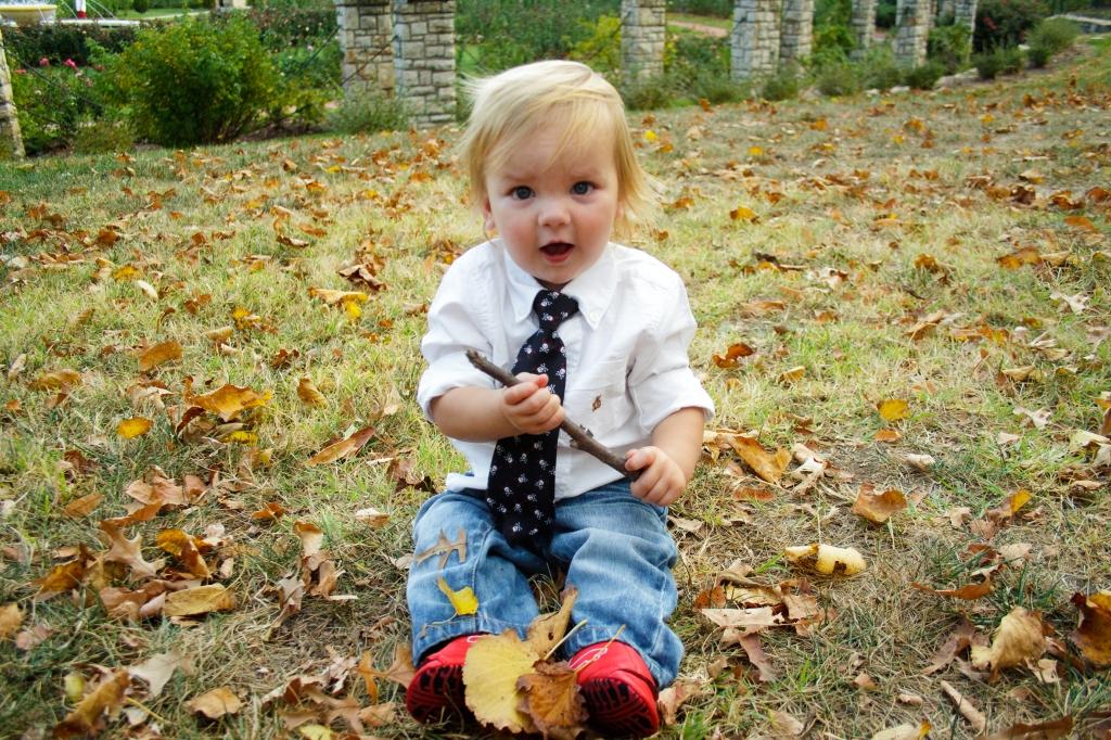 baby photo at loose park kansas city