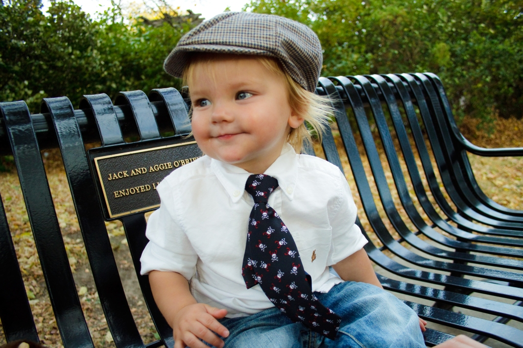 Baby portrait in Loose Park Kansas City